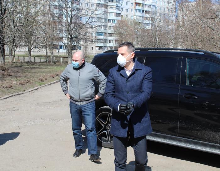 Алексей Кучер в Первомайском