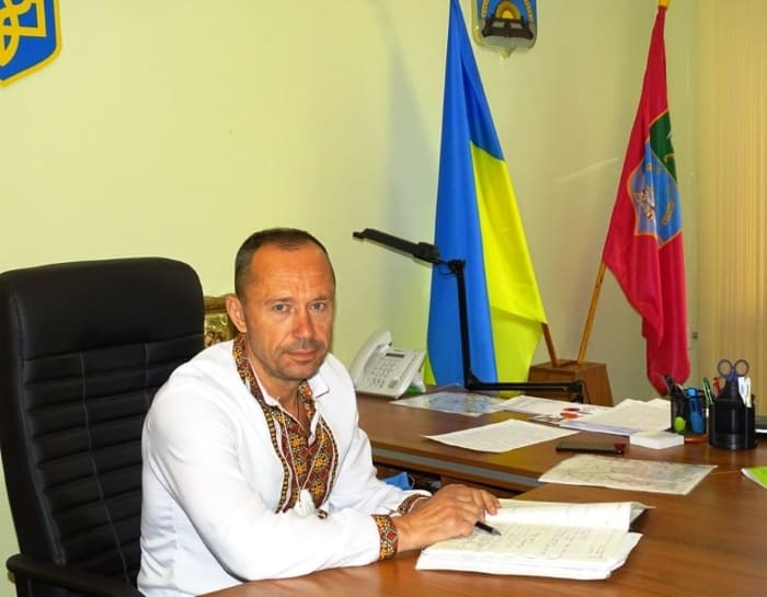 Вадим Партала в вышиванке