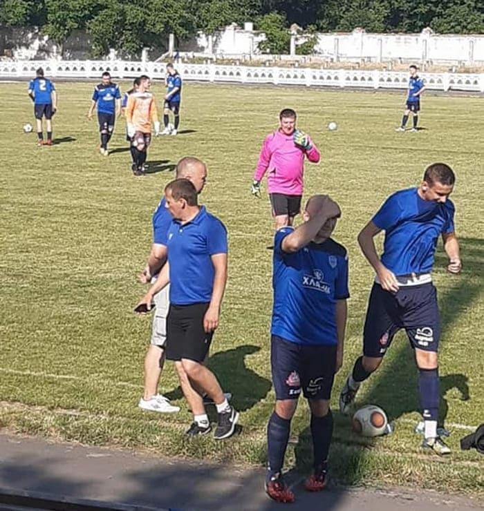 футбол в Лозовой 3