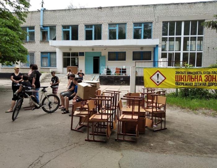 школа №4 мебель