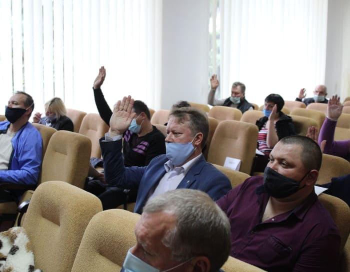 Владимир Павленко на сессии райсовета
