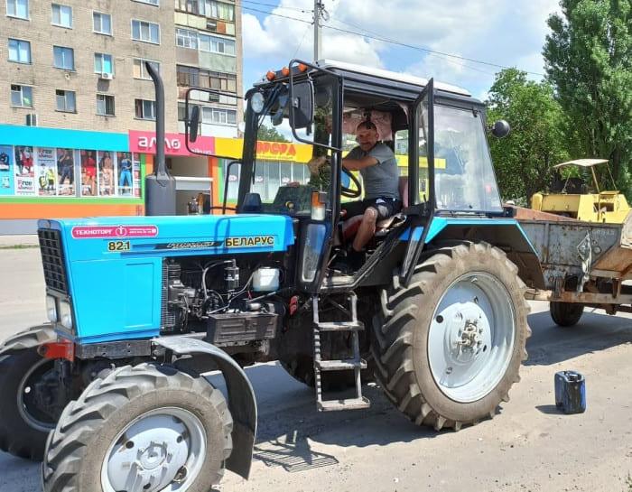 ямочный ремонт дорог по Комарова