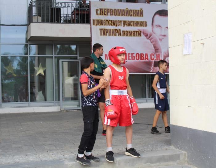 бокс турнир Глебова
