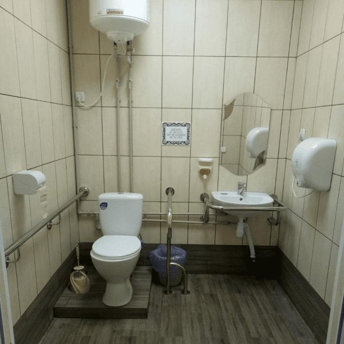 Туалет в ДК 2