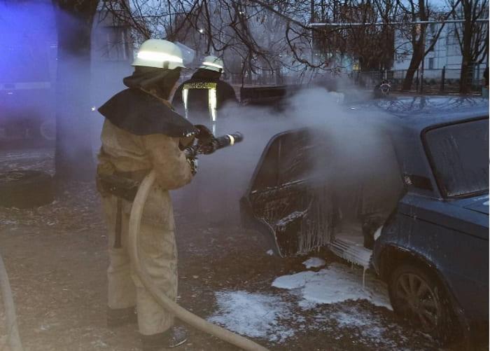 сгорел автомобиль 1