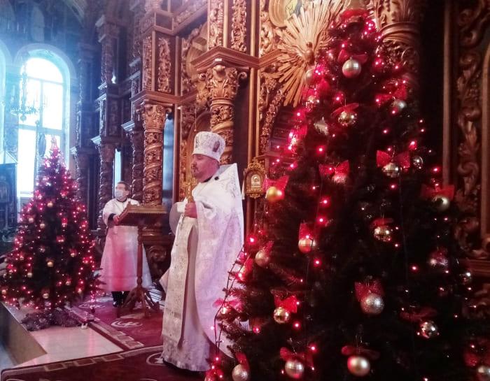 Рождество в Первомайском