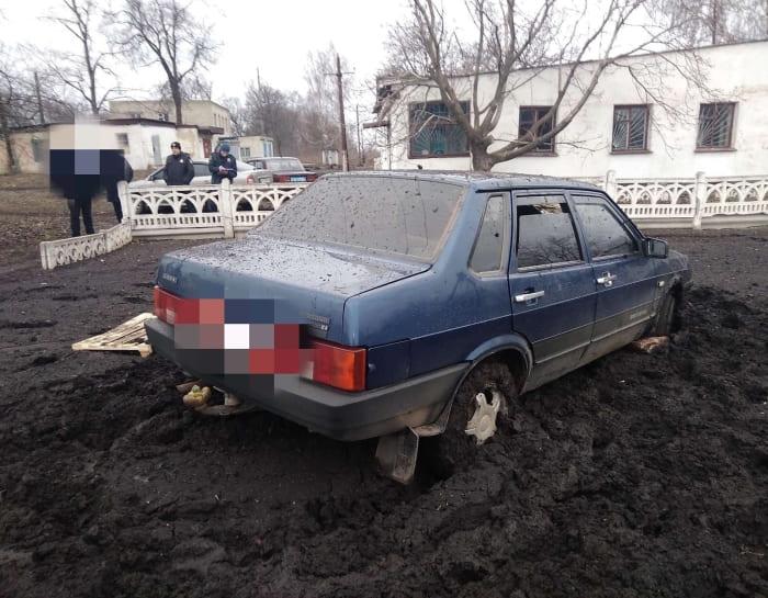 СТО угон авто