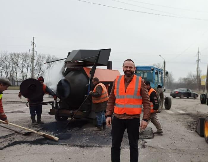 Бакшеев Ремонт дорог 1