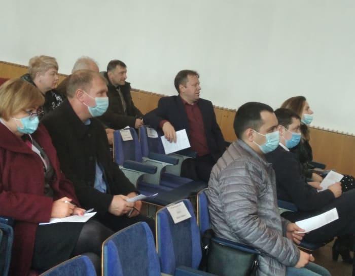 Владимир Павленко на сессии