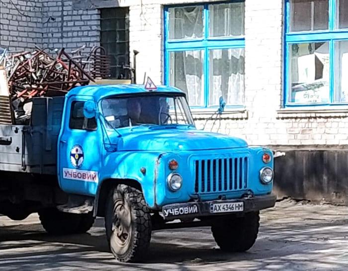 грузовик школа №4