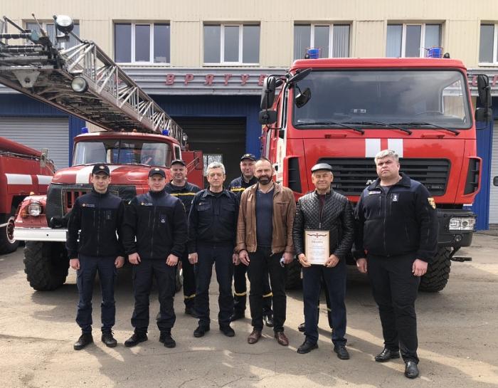 Бакшеев и пожарные