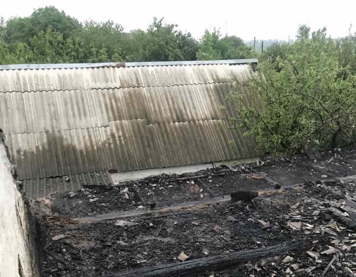 пожар в Беляевке