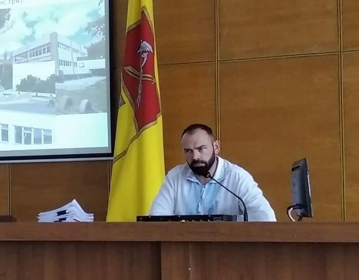 Николай Бакшеев на сессии