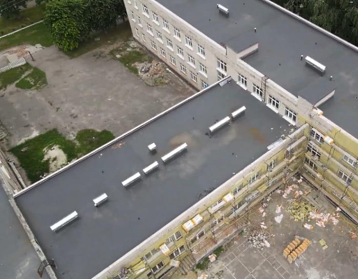 лицей 3 крыша