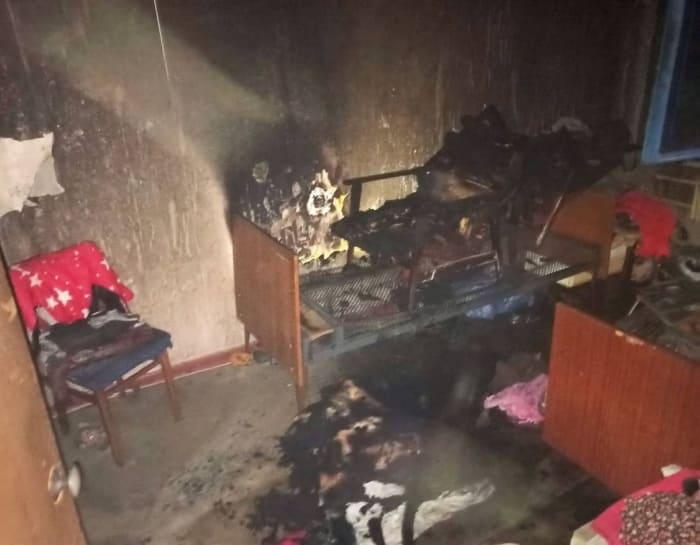 пожар в пятиэтажке 2