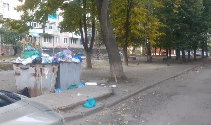 мусор контейнеры 2